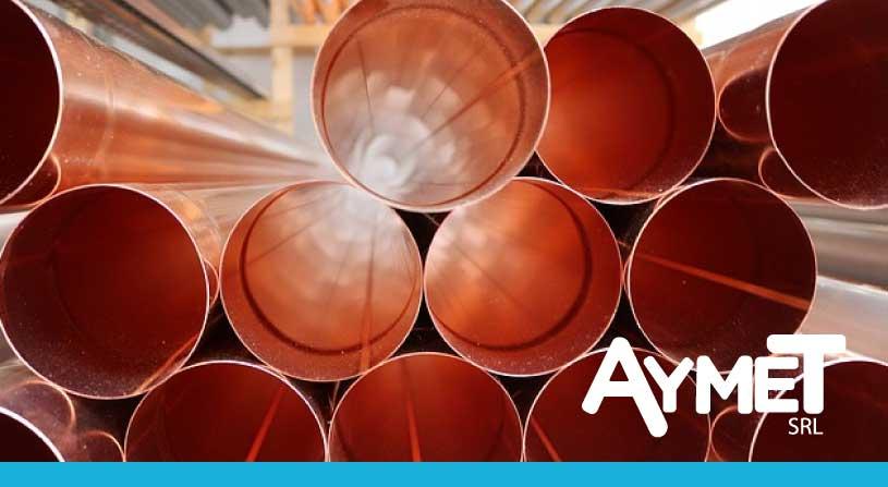 Caños y tubos de cobre para la industria