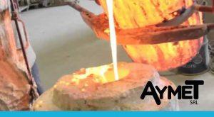 Extrusión de aluminio en perfiles industriales