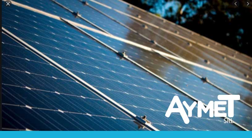Perfiles para paneles solares