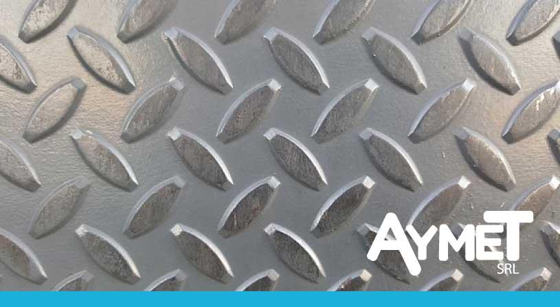 Chapas de aluminio antideslizantes