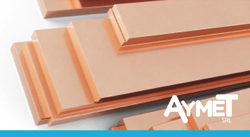 Planchuelas de cobre: datos sobre el 2° metal con mayor conductividad