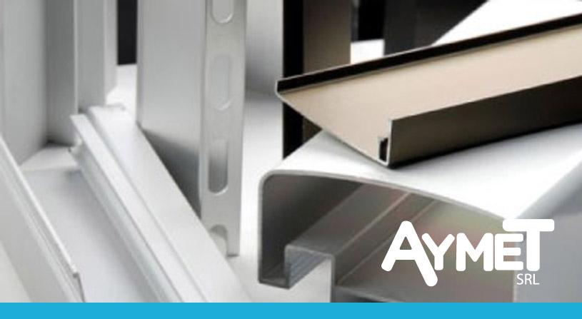 Tipos de perfiles de aluminio estructurales